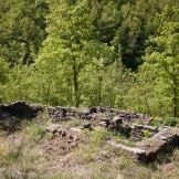 The stone ruins
