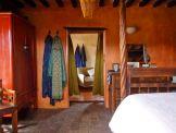 Bedroom to bathroom